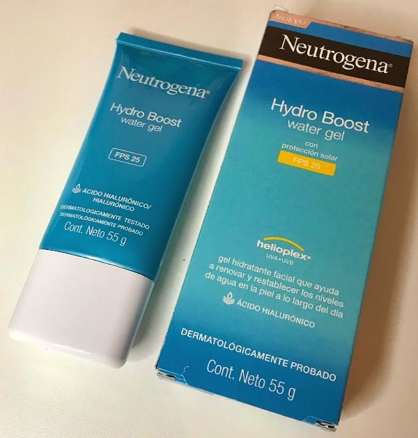 Resenha Hidratante Hydro Boost Water Gel Neutrogena