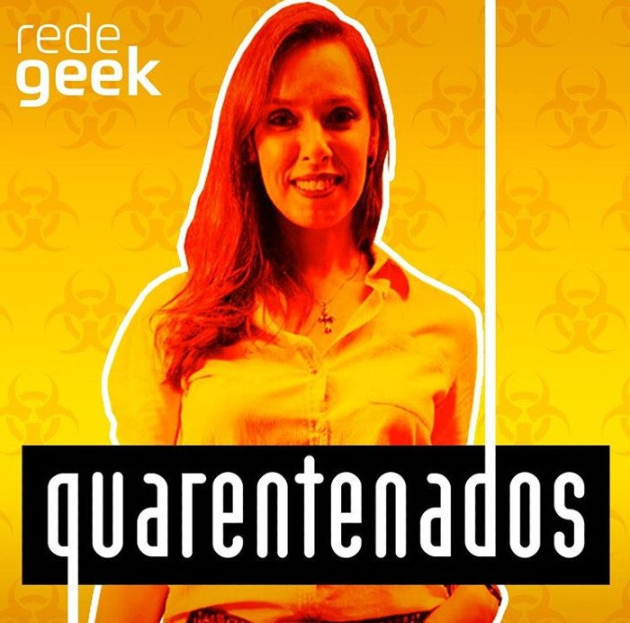 Minha Participação na Live Quarentenados da Rede Geek