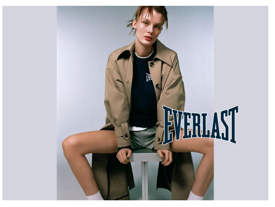 Zara Lança Coleção Com a Everlast